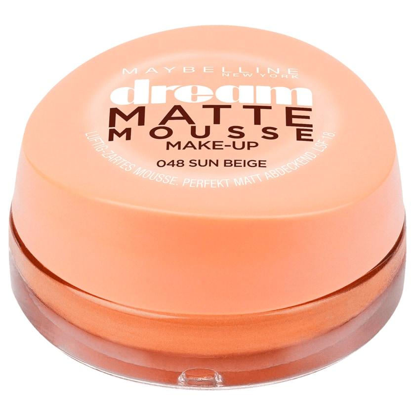 Maybelline Jade Make-up Dream Matte Mousse 48 sun beige