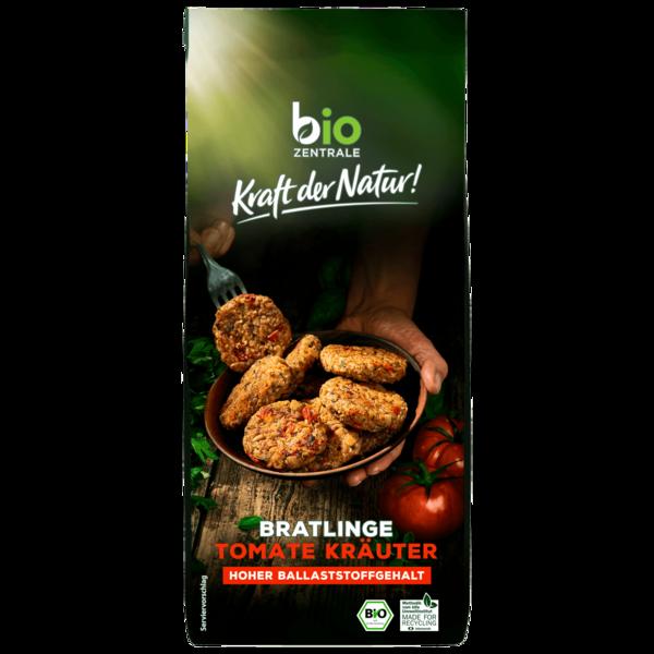 Bio Zentrale Bratlinge Tomate-Kräuter 300g