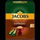 Jacobs Espresso löslicher Kaffee 45g, 25 Sticks