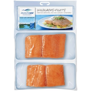 Deutsche See Fischmanufaktur Wildlachs-Filets 250g