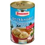 Zimmermann Speckknödel-Suppe 400ml