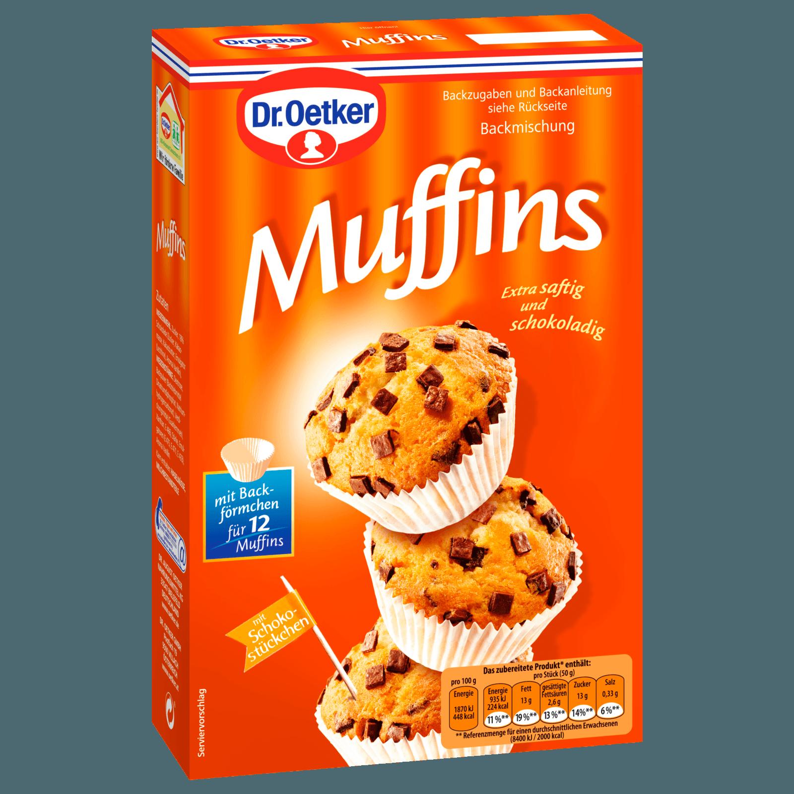 Dr Oetker Muffins 370g Bei Rewe Online Bestellen