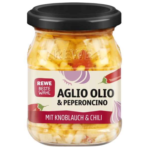 REWE Beste Wahl Aglio Olio & Peperoncino 100g