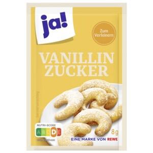ja! Vanillinzucker 15x8g