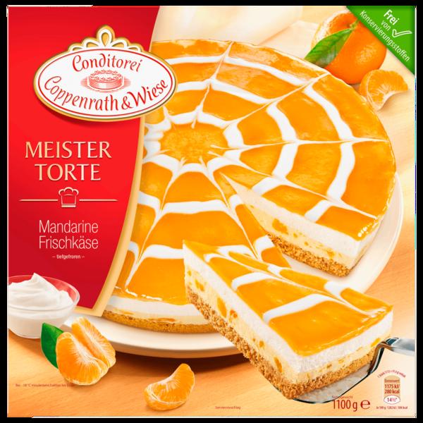Coppenrath & Wiese Meistertorte Mandarine-Frischkäse 1,1kg