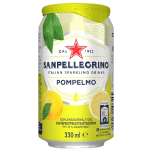San Pellegrino Limonade Grapefruit 0,33l