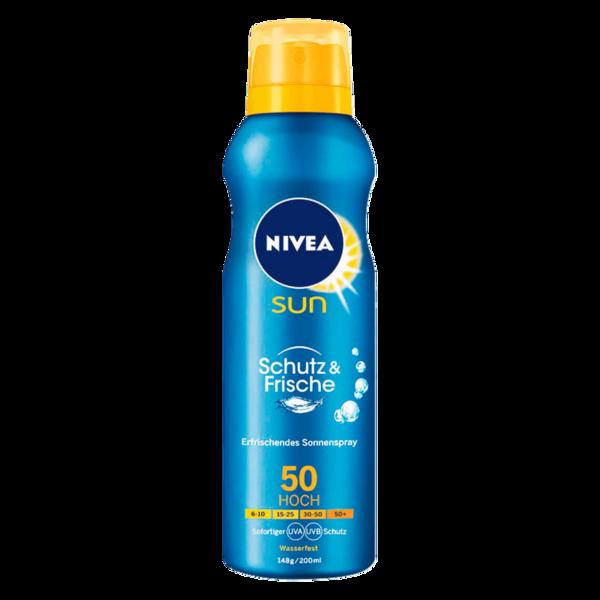 Nivea Sun Protect & Refresh Kühlendes Sonnenspray LSF 50 200ml