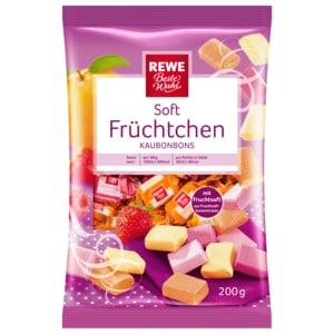 REWE Beste Wahl Soft Früchtchen Kaubonbons 200g