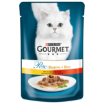 Gourmet Katzenfutter Perle Duetto di Carne mit Huhn & Rind 85g