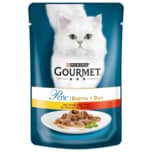 Gourmet Perle Duetto di Carne mit Huhn & Rind 85g