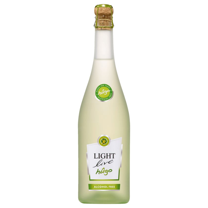 Light Live Sparkling Hugo alkoholfrei 0,75l