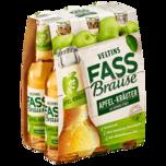 Veltins Fassbrause Apfel-Kräuter alkoholfrei 6x0,33l
