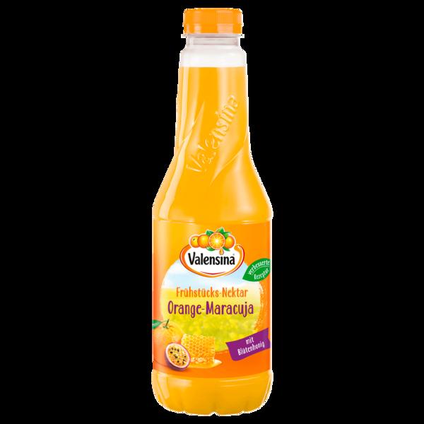 Valensina Frühstücks-Nektar Orange-Maracuja 1l