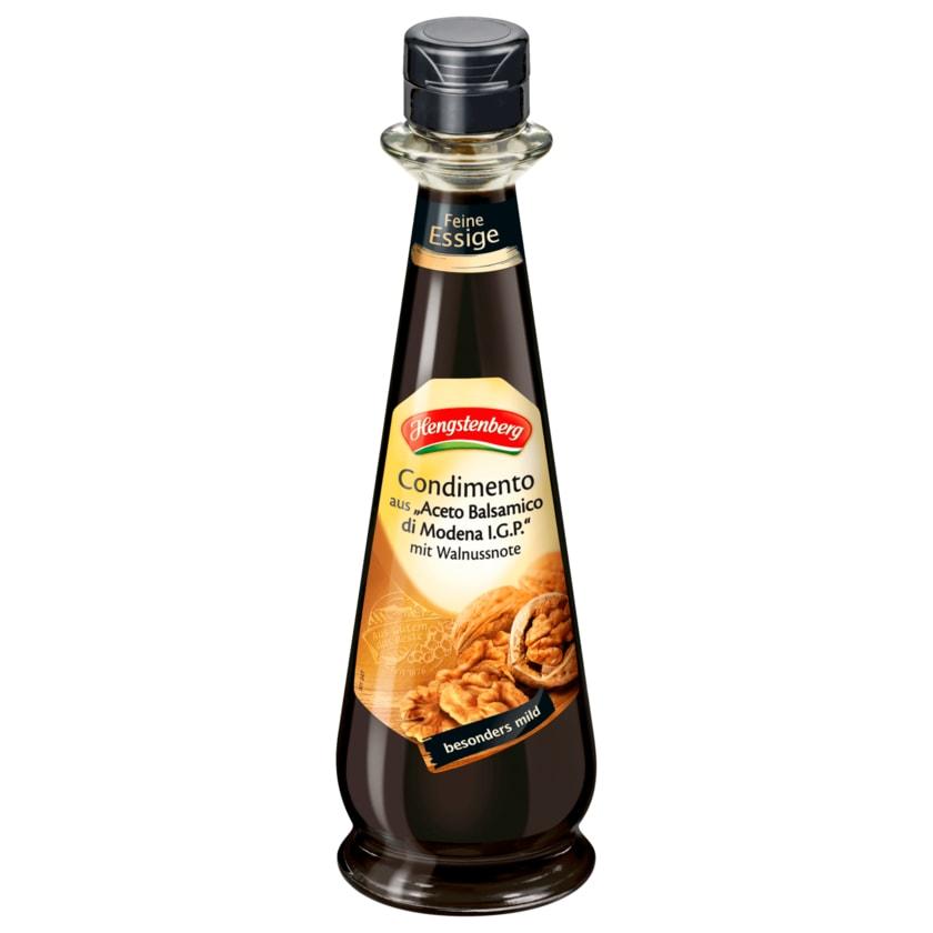 Hengstenberg Condimento aus Aceto Balsamico di Modena mit Walnussnote 250ml