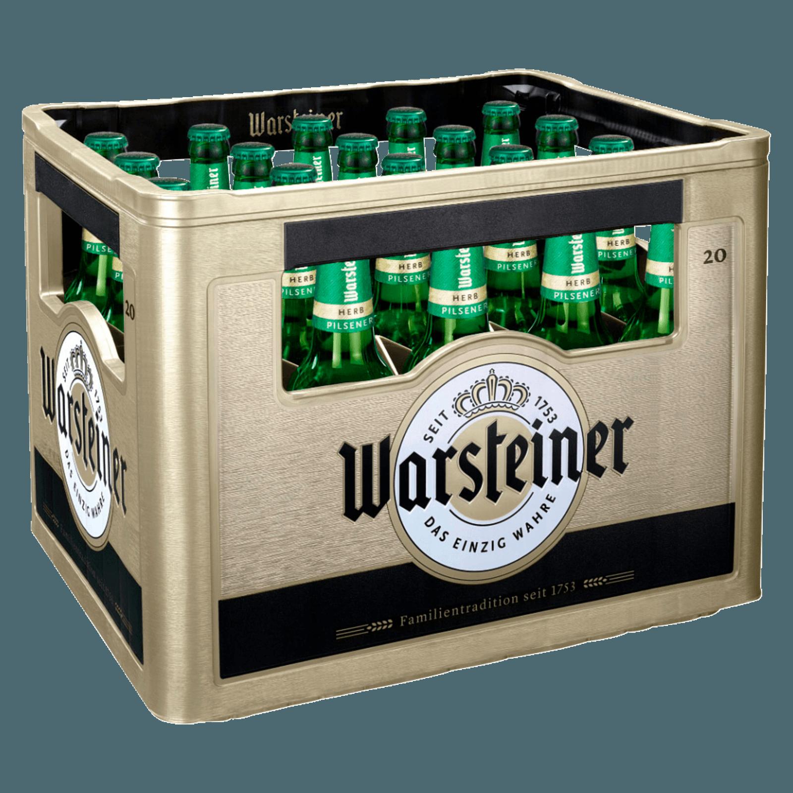 Warsteiner Herb 20x05l