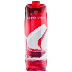 Wappenlese Rotwein lieblich 1l
