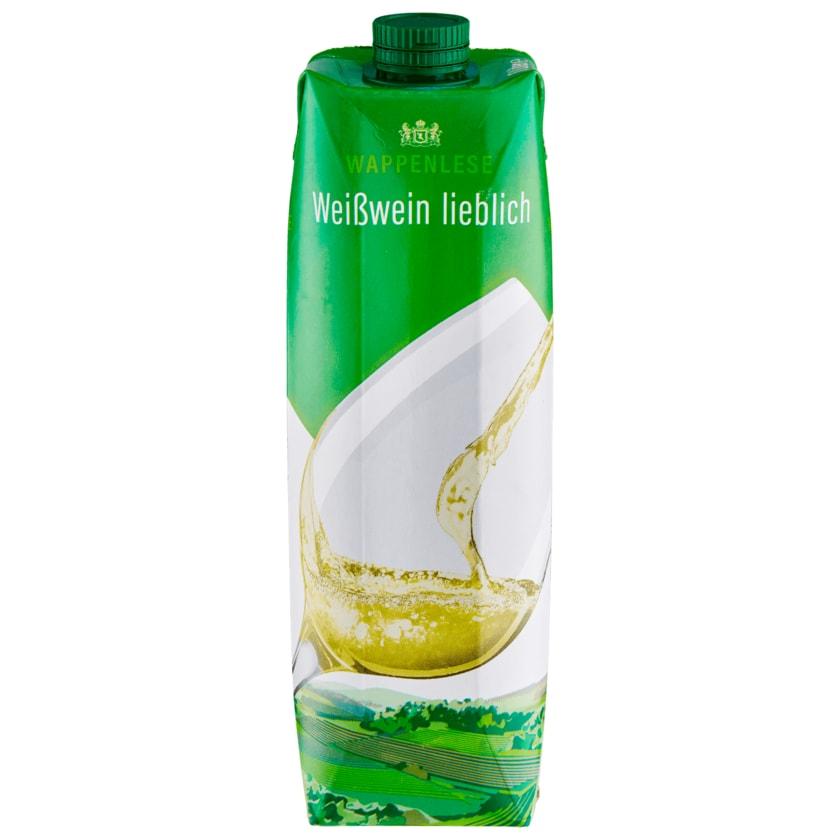 Wappenlese Weißwein lieblich 1l