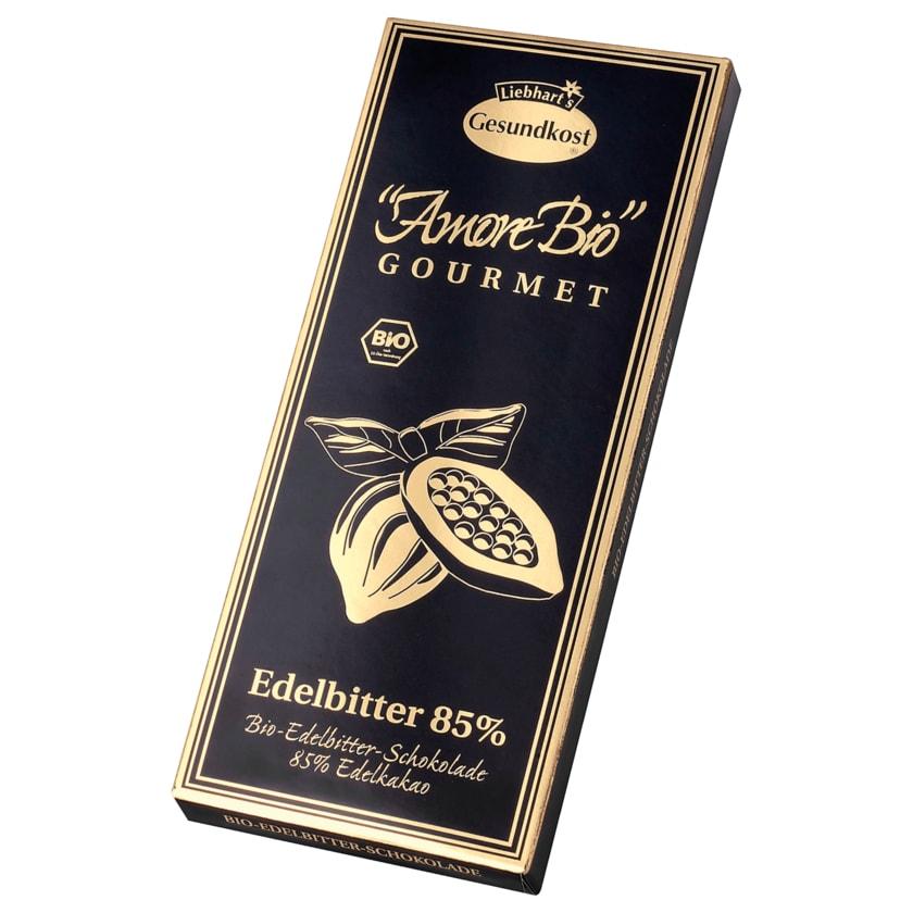 Liebhart's Gesundkost Bio Edelbitter Schokolade 85% 100g
