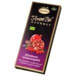 Liebhart's Gesundkost Bio Schokolade Zartbitter Himbeer Granatapfel 100g