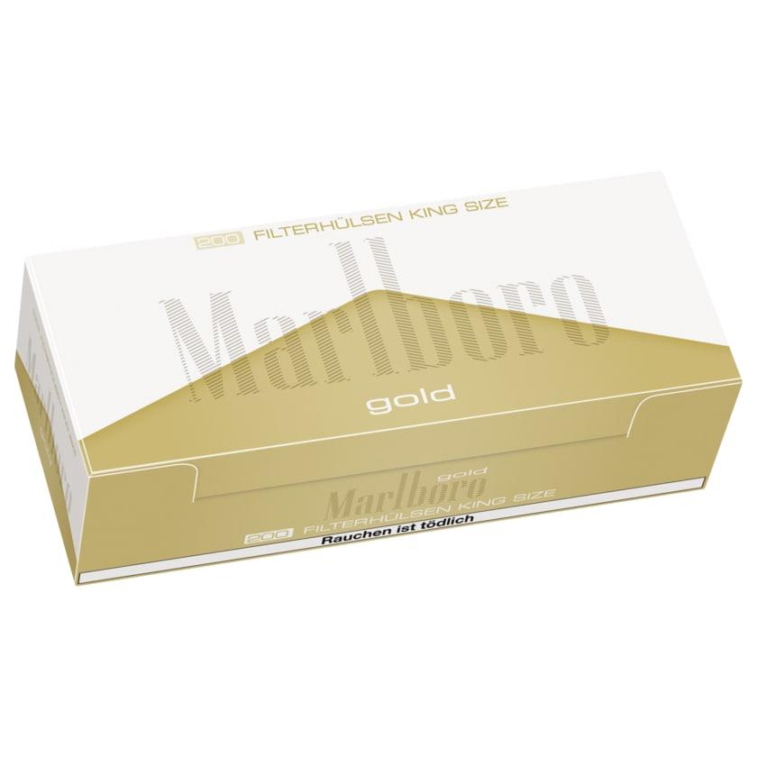 Marlboro Gold Hülsen 200 Stück