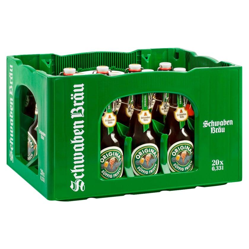 Schwaben Bräu Original 20x0,33l