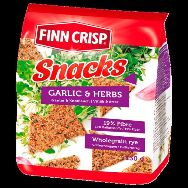 Finn Crisp Rye-Snacks Kräuter&Knoblauch 130g