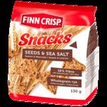 Finn Crisp Snacks Saaten & Meersalz 130g