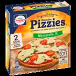 Original Wagner Pizza Steinofen Pizzies Mozzarella Vegetarisch Tiefgefroren 2x140g (280g)