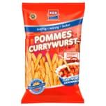 Xox Pommes Currywurst 125g