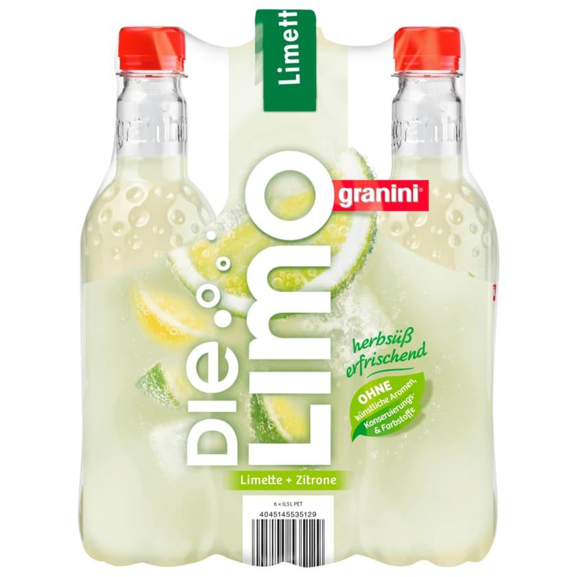 Granini Die Limo Zitrone & Limette 6x0,5l