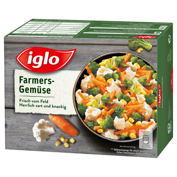 Iglo Farmers Gemüse Frisch vom Feld 400g