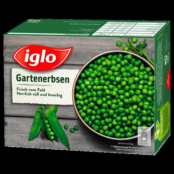 Iglo Gartenerbsen Frisch vom Feld 400g