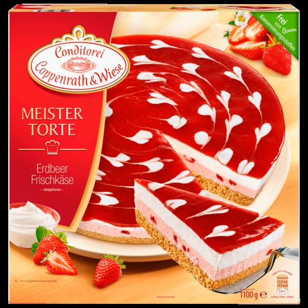 Coppenrath & Wiese Meistertorte Erdbeer-Frischkäse 1,1kg