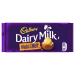 Cadbury Dairy Milk Wholenut Schokolade 200g