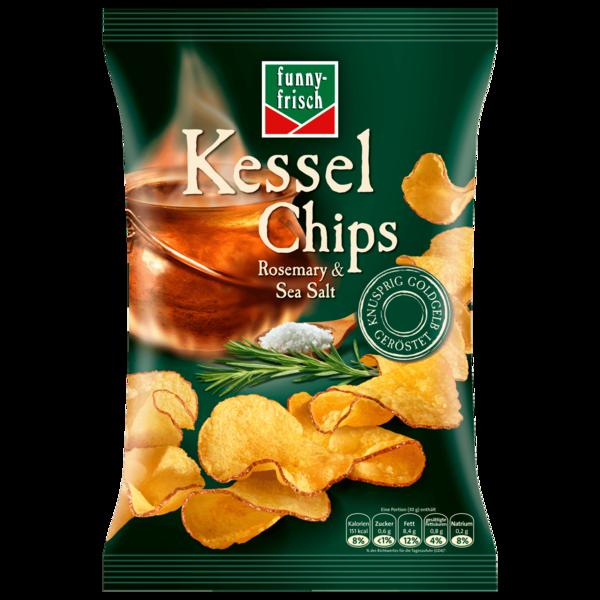 Funny-frisch Kessel Chips Rosemary & Salt 120g