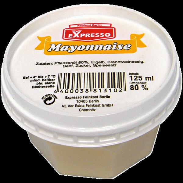 Expresso Mayonnaise 80 % 125ml