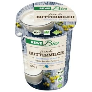 REWE Bio Frische Buttermilch 500g