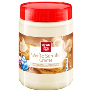 REWE Beste Wahl Weiße Schoko-Creme 400g