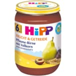 Hipp Frucht & Getreide Bio Pflaume-Birne Vollkorn 190g