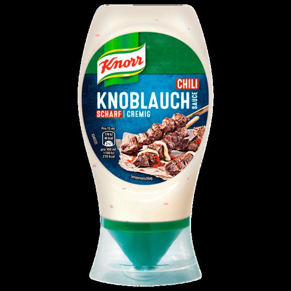 Knorr Scharfe Knoblauch-Jalapeño-Sauce 250ml