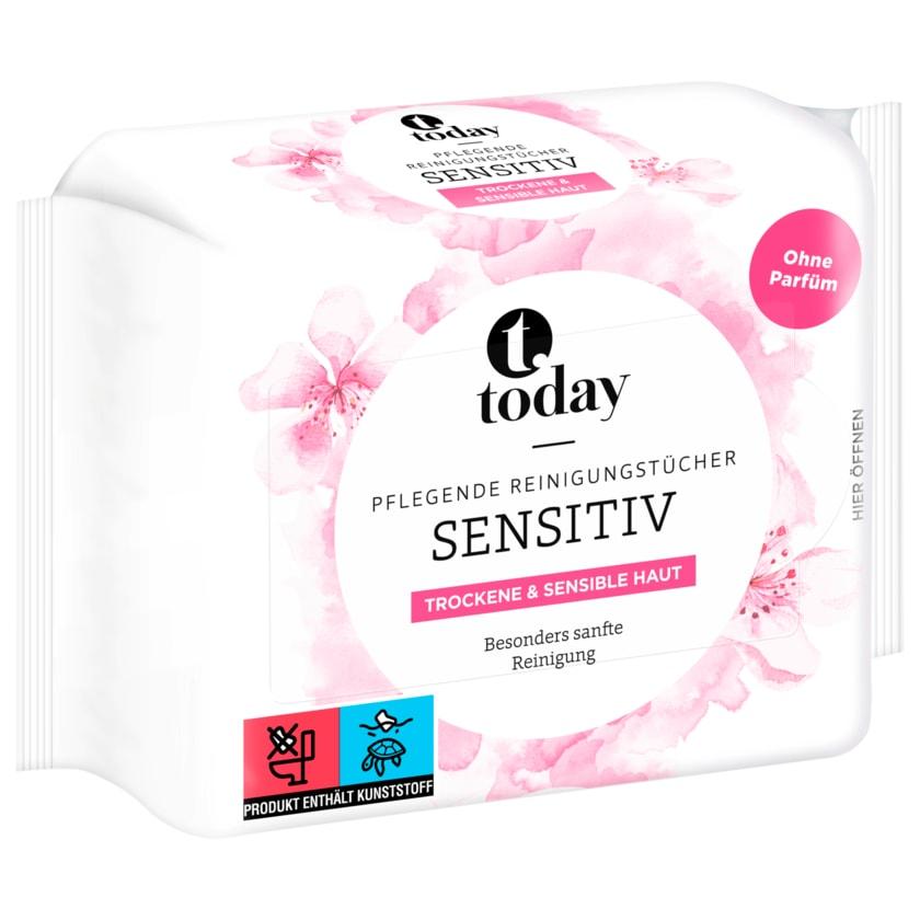 Today Pflegende Reinigungstücher sensitiv 25 Tücher