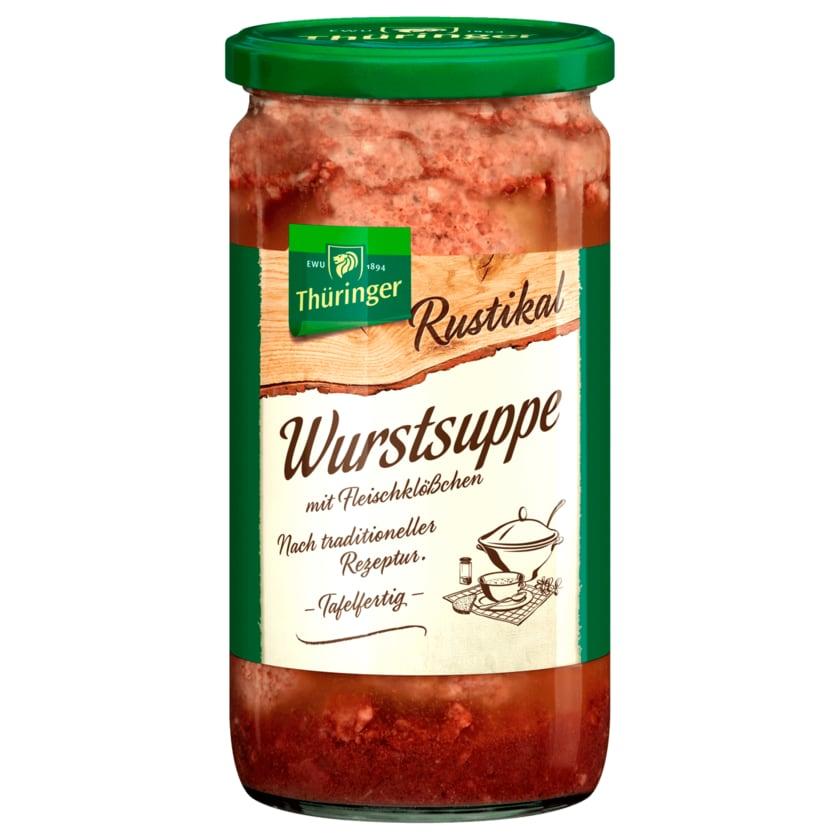 EWU Thüringer Rustikal Wurstsuppe mit Fleischlößchen 700ml