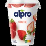 Alpro Erdbeere mit Rhabarber 500g,
