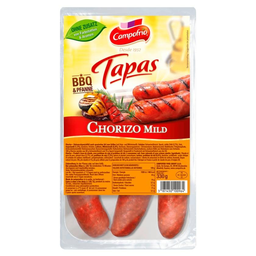 Campofrio Chorizo BBQ Griller mild 330g