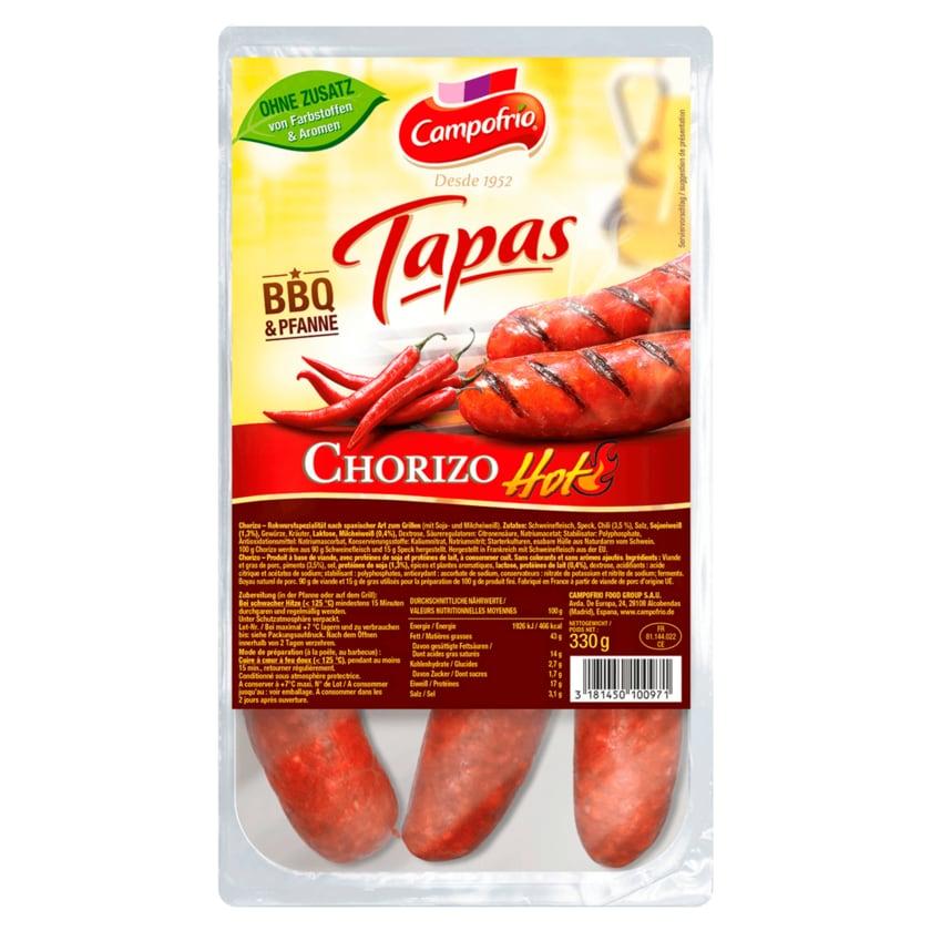 Campofrio Chorizo BBQ Griller hot 330g