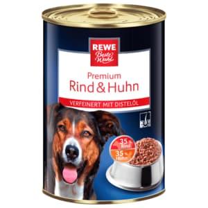 REWE Beste Wahl Hundefutter Premium Rind & Huhn 400g