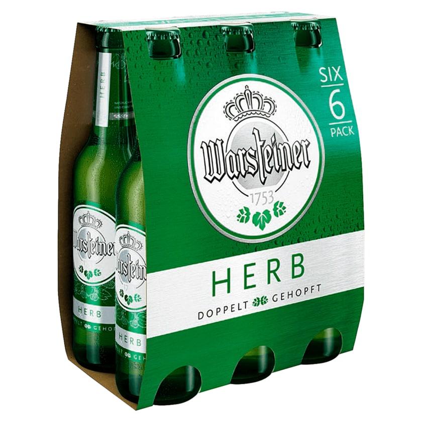 Warsteiner Herb 6x0,33l