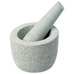 Kesper Granit-Mörser mit Schlegel Grau