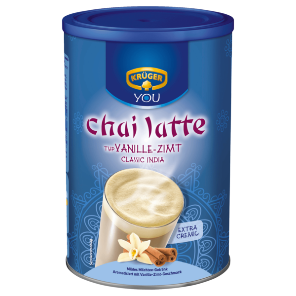 Krüger Chai Latte Classic India 450g