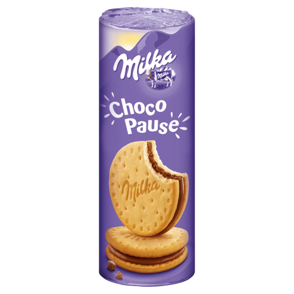 Milka Doppelkekse Choco-Pause 260g